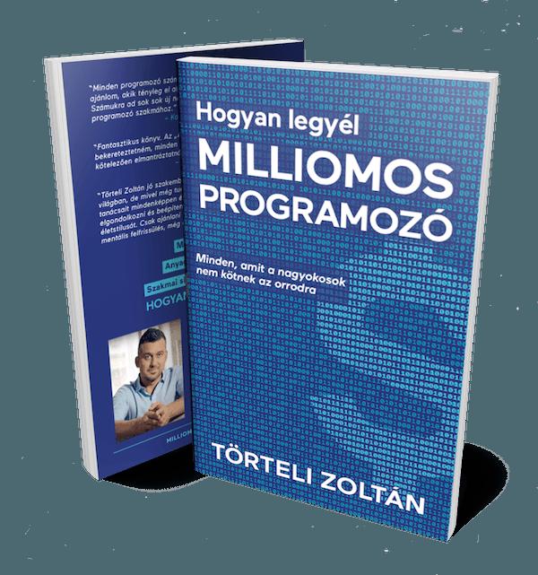 Milliomos programozó könyv borító
